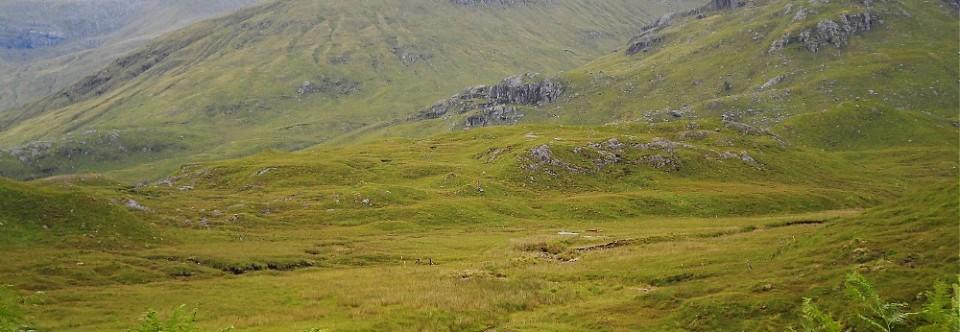 Dolina zielonych dywanów czyli droga na Skye